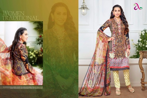 Pakistani Lawn Cotton Collection - Moufizz vol 3 Full Catalog