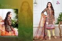Pakistani Lawn Cotton Collection - Moufizz vol 3 Full Catalog