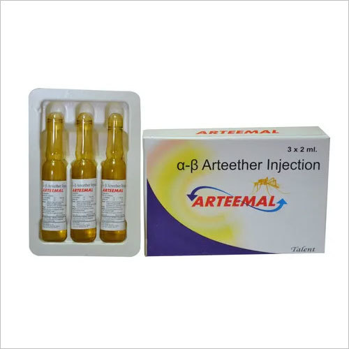 Alpha Beta Arteether Injection, Packaging Size: 3 X 2 Ml, Packaging Type: Ampoules