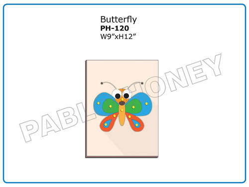 Wooden Cutout Butterfly