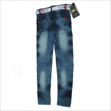 Kids Cotton Jeans