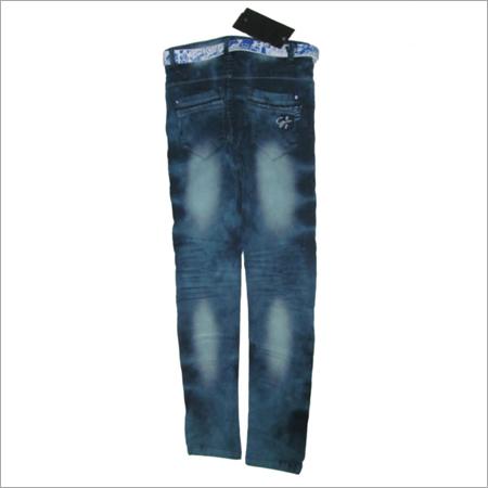 Wrinkled Kids Jeans