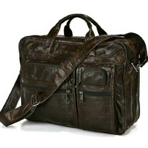 Leather Office Briefcase Bags