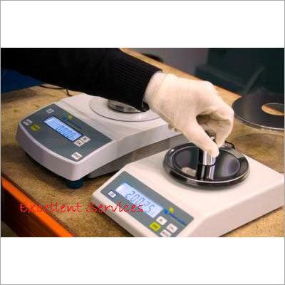 Calibration of Weighing Balance