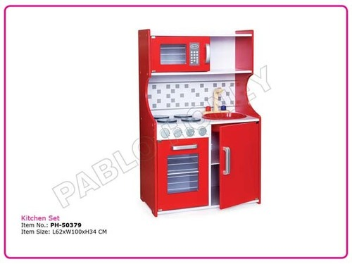 Woden Role Play Kitchen Set
