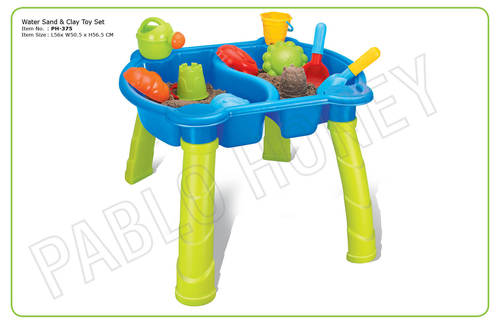 Water Sand & Clay Toy Set