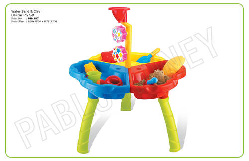 Water Sand & Clay Deluxe Toy Set