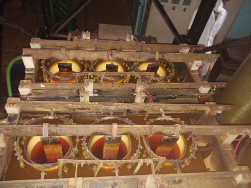 Triple Diaphragm Cr Collector Unit In Working