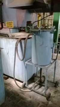 OIL RETENTION UNIT AT SOAK CLEANER