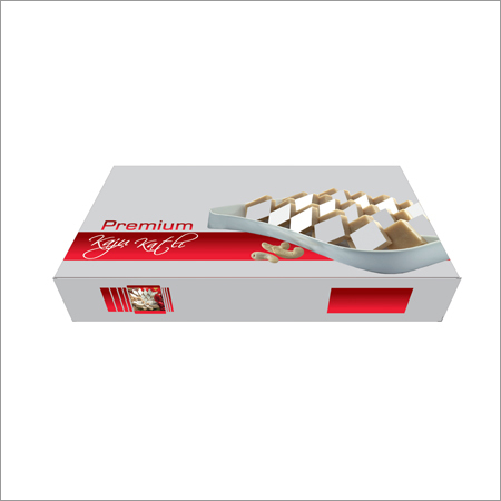 Metalized Polyester Kaju Barfi Boxes