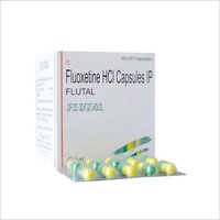 Fluoxetine Capsule, Packaging Size: 10x10 Capsules, Packaging Type: Blister