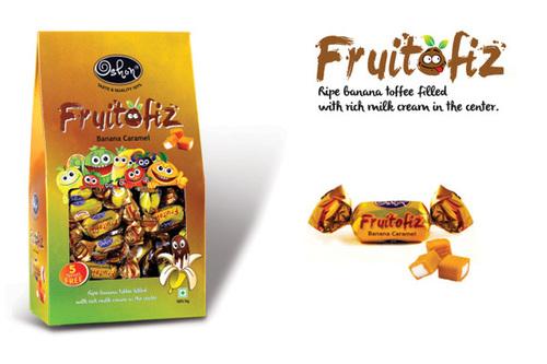 Fruitofiz Banana Caramel Toffee