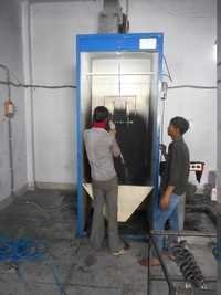 Bike Turn Component Paint Booth