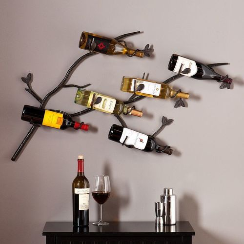 Tree Shape Wine Hanger