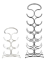 Designer Iron Wine Rack