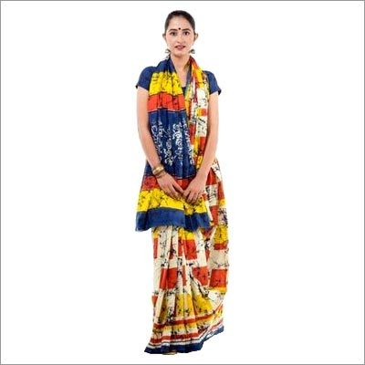 Traditional Sanganeri Cotton Sarees