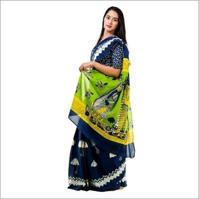 Jaipuri Printed Cotton Sarees