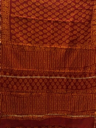Cotton Chanderi Saree