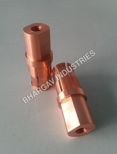 RF Connector Copper Turned Parts