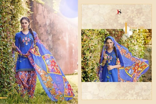 Fancy Designer Latest Cambric Print Salwar Suit