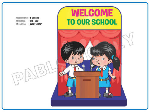 Welcome Cutout