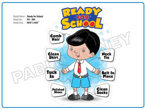 Ready for School Cutout
