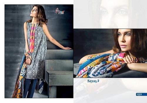 Designer Latest Camric Cotton Print Salwar Suit