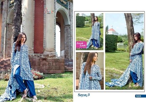 Fancy Designer Latest Launch Camric Print Salwar Suit