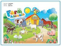 Farm Animals Cutout