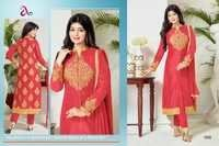 Designer Latest Launch Stylish Pure Camric Salwar Suit