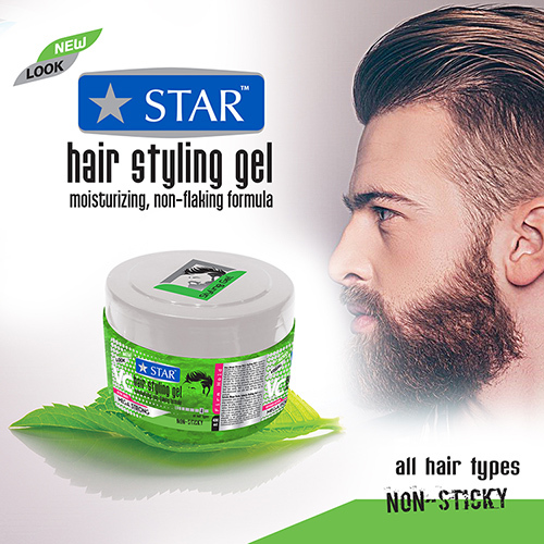 Mega Hold Hair Gel