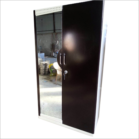 Steel Stainless Mirror Almirah