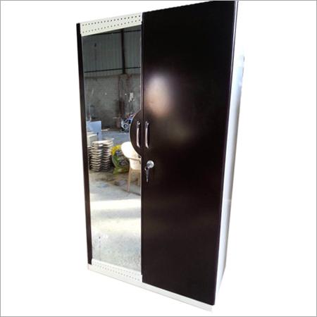 Steel Stainless Mirror Almirah