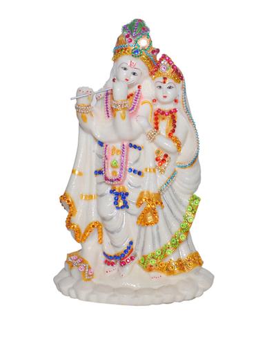 Radha Krishan Night Glow Idol