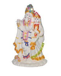 Radha Krishan Night Glow Idol