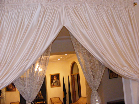Faux Silk Satin Dupioni Curtains