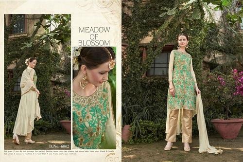 Fancy Designer Latest Launch Heavy Net Salwar Suit