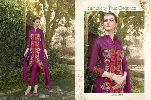 Fancy Designer Latest Launch Fox Georgette Salwar Suit