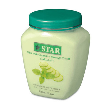 Cucumber with Mint Massage Cream
