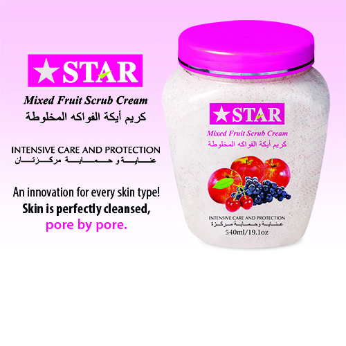 Mixed Fruit Massage Cream