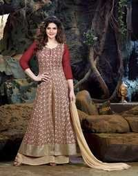 Desinger Latest Exclusive Stylish Semi Georgette Salwar Suit