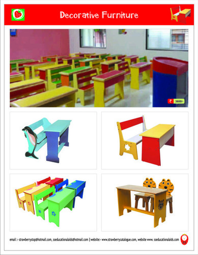 Decorative School Furniture