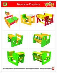 Play School Chair & Tables