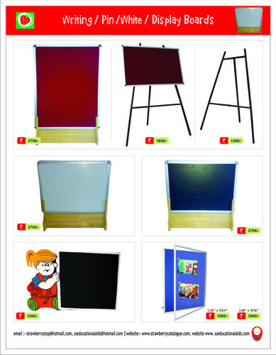 Play School Pin Boards