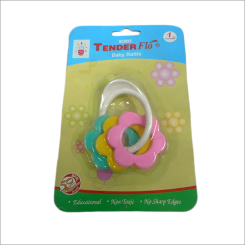 Baby teethers and rattles