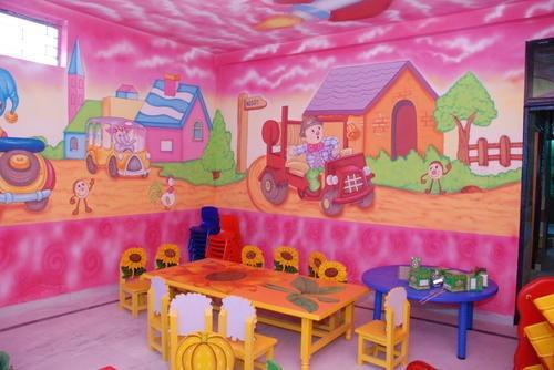 Play School Wall Paintings