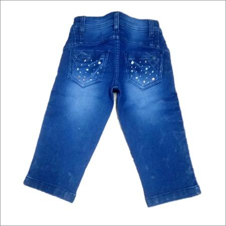 Stylish Jeans Stone Work