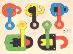 Play School Lock & Key Puzzles