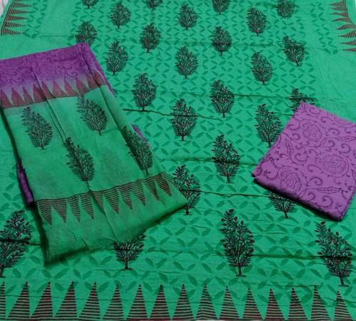 Green Applique Suits