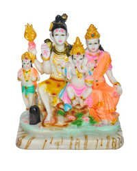 Shiv Family idol